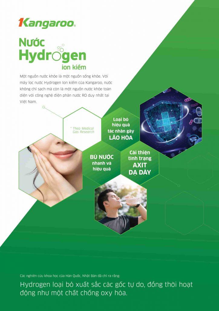Máy lọc nước Kangaroo Hydrogen ion kiềm KG100ES