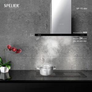 Máy Hút Mùi Spelier SP 110 Slim ảnh thực tế